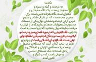 سخن نگاشت / فعالیتهای حفظ محیط زیست، فعالیتهای دینی و انقلابی است