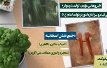 ویدئو گرافیک آیات قرآن قسمت بیست و سوم جمع آوردن یاران امام عصر (عج)