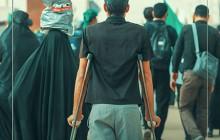 تصویر / نزدیک اربعین دل جا مانده ها گرفت