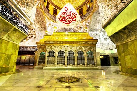 عکس با کیفیت از ضریح جدید حرم امام حسین (ع) / نور عینی یا حسین