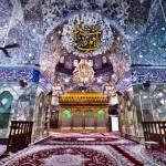 تصویر با کیفیت از ضریح حرم حضرت عباس (ع)
