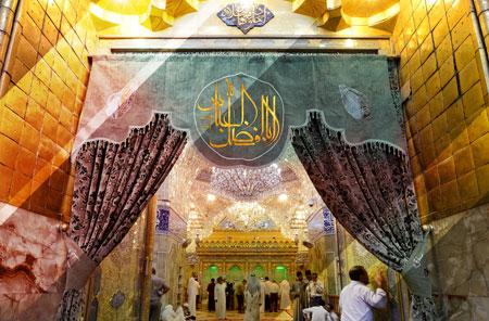 تصویر با کیفیت از حرم حضرت عباس (ع)
