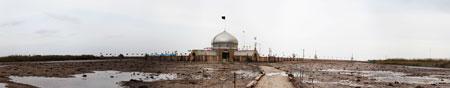 عکس پانوراما از یادمان شهدای عملیات رمضان (پاسگاه زید)