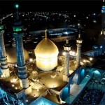 فیلم برداری هوایی از حرم حضرت معصومه (س)