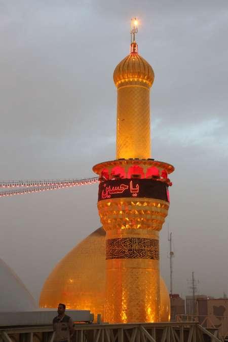 عکس گنبد حرم امام حسین (علیه السلام) - Arbaeen