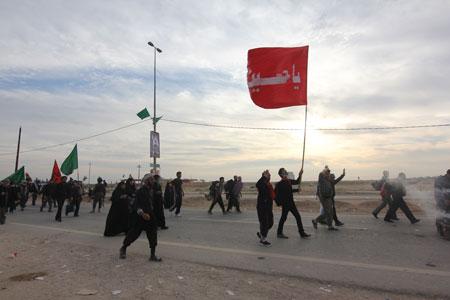 مشایه الأربعین - Arbaeen - راهپیمایی اربعین
