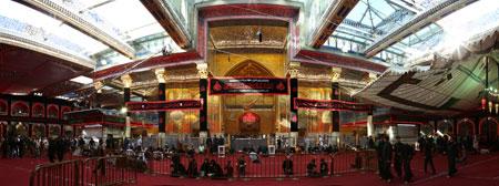 عکس پانوراما از حرم حضرت عباس (ع)