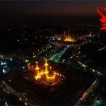 عکس هوایی از بین الحرمین / کربلا