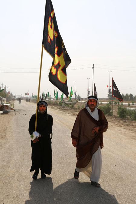 راهپیمایی اربعین حسینی، مشایة الأربعین ، arbaeen