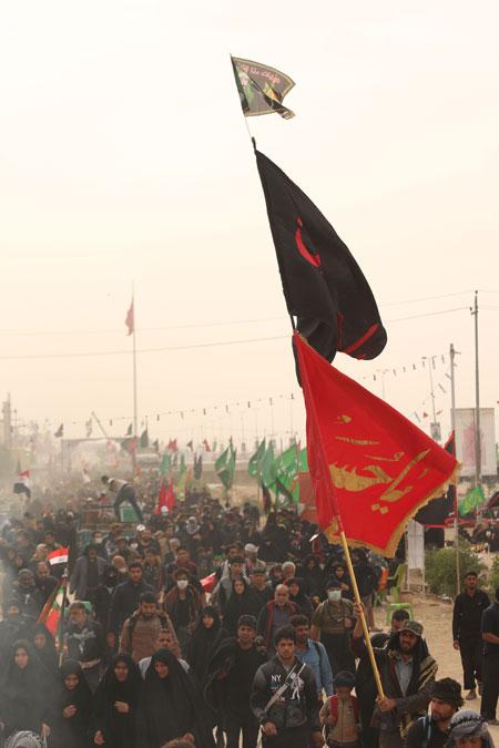 راهپیمایی اربعین ، مشایة الأربعین ، arbaeen