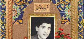 فایل لایه باز تصویر شهید سید محمد شمس / شهدای شهر من