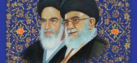 فایل لایه باز نقاشی چهره امام خمینی (ره) و امام خامنه ای