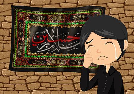 تصویر عزاداری شهادت امام حسین (ع) مخصوص کودکان